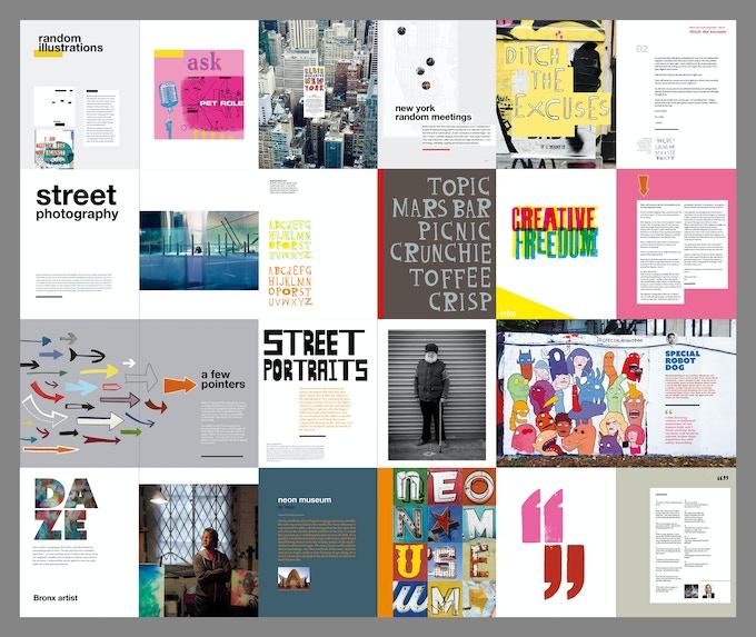 Spread Designs for Elsie Magazine Annual