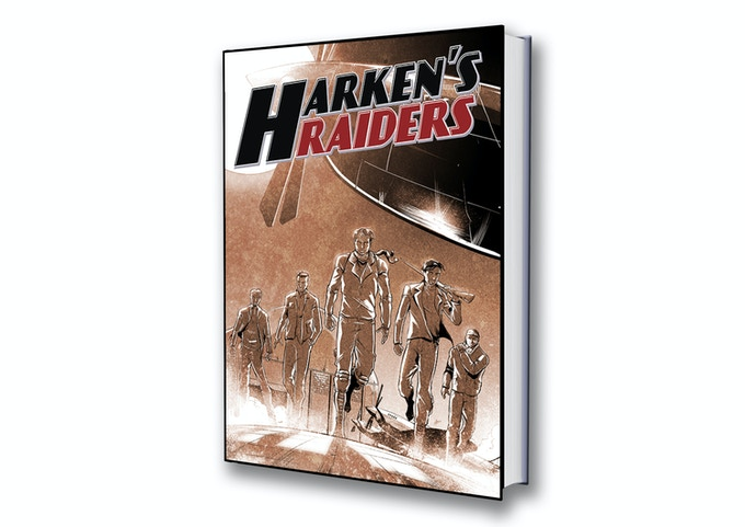 Harken's Raiders Variant Cover by Amrit Birdi