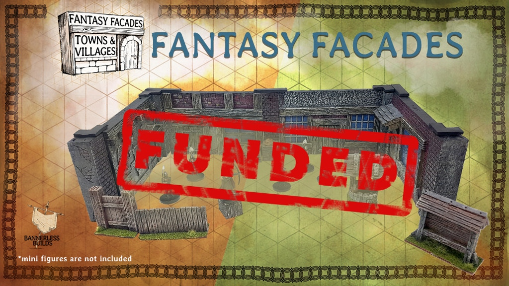 Fantasy Facades 3D RPG Terrain by Bannerless Builds project video thumbnail
