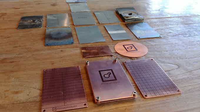 All prototypes, from the first version to the final product