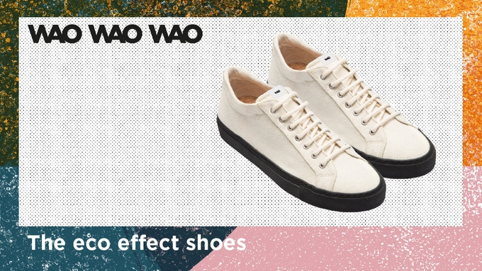 WAO: The first shoes with eco effect