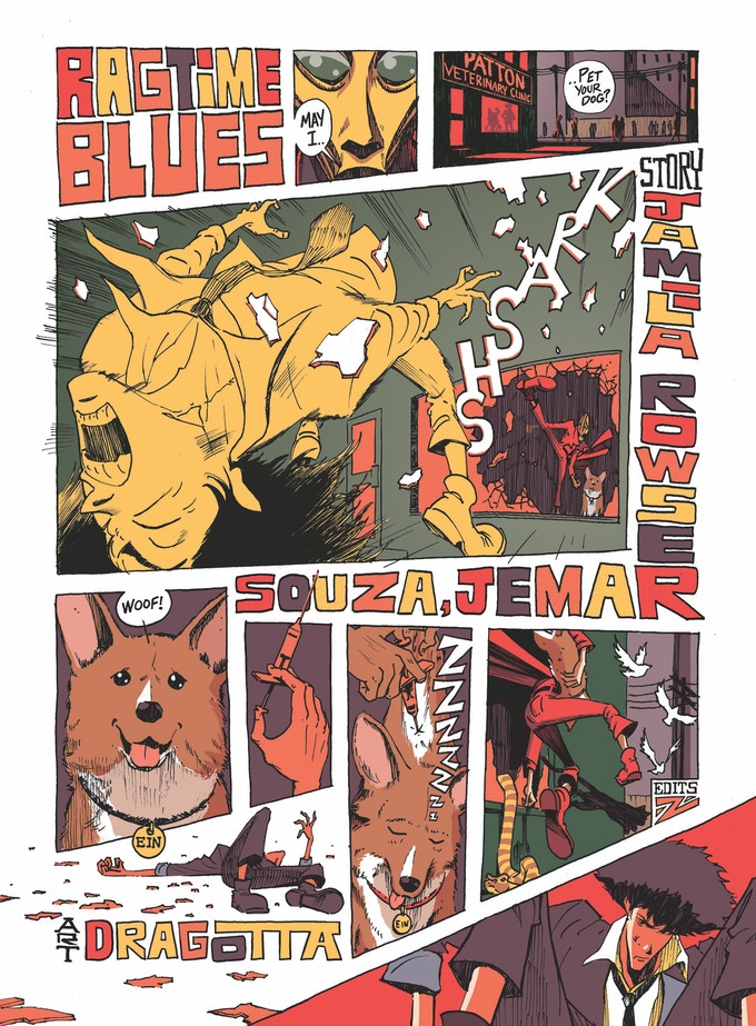 The Real Folk Blues: a Cowboy Bebop fanbook by Zainab Akhtar
