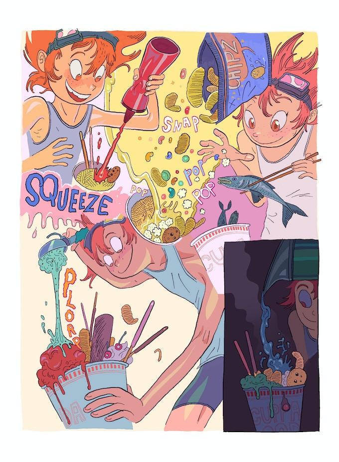 Page from Anatola Howard's 'Ed's Dream'