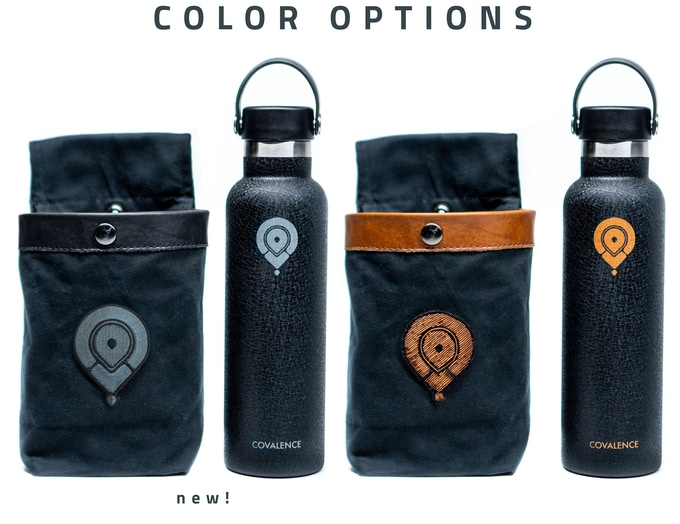 Color Options: Slate & Copper