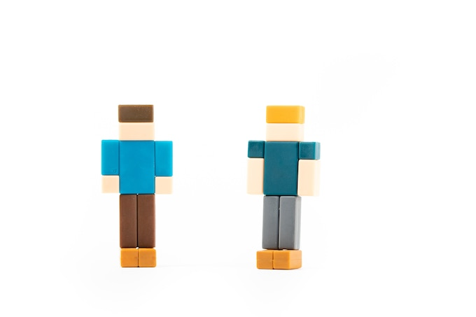 Say hello to our PIXL Avatars! (Matthew on the left, Mark on the right).