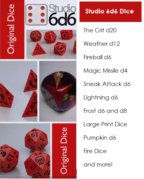 Get many of these great dice RIGHT NOW, click for our website