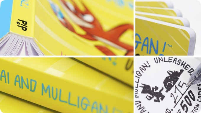 Limited first edition Chai and Mulligan! Unleashed. Initial print run of 500.