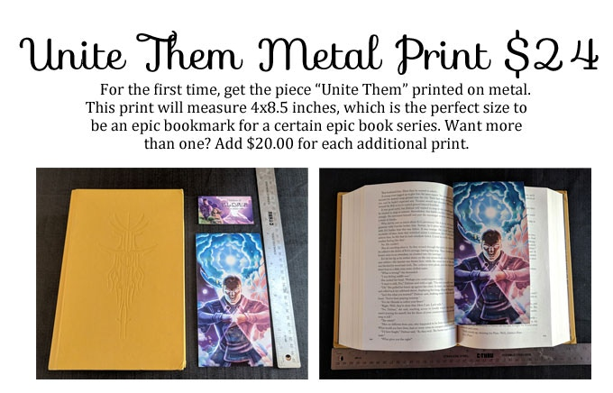 *This is a mockup of what the bookmark will look like. Actual bookmark may vary slightly.