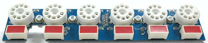 Assembled tube board