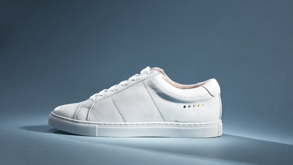 Lacess: Minimalistic sneakers with an extravagant cause project video thumbnail