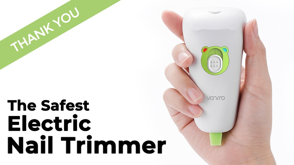Babynice | The Safest Electric Nail Trimmer project video thumbnail