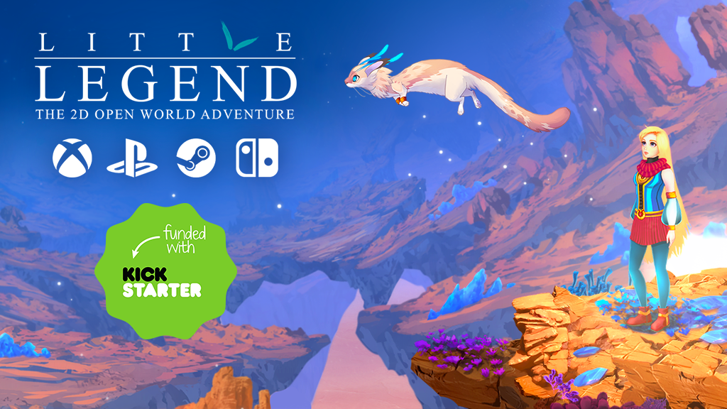 LITTLE LEGEND - the 2D Open World Adventure project video thumbnail