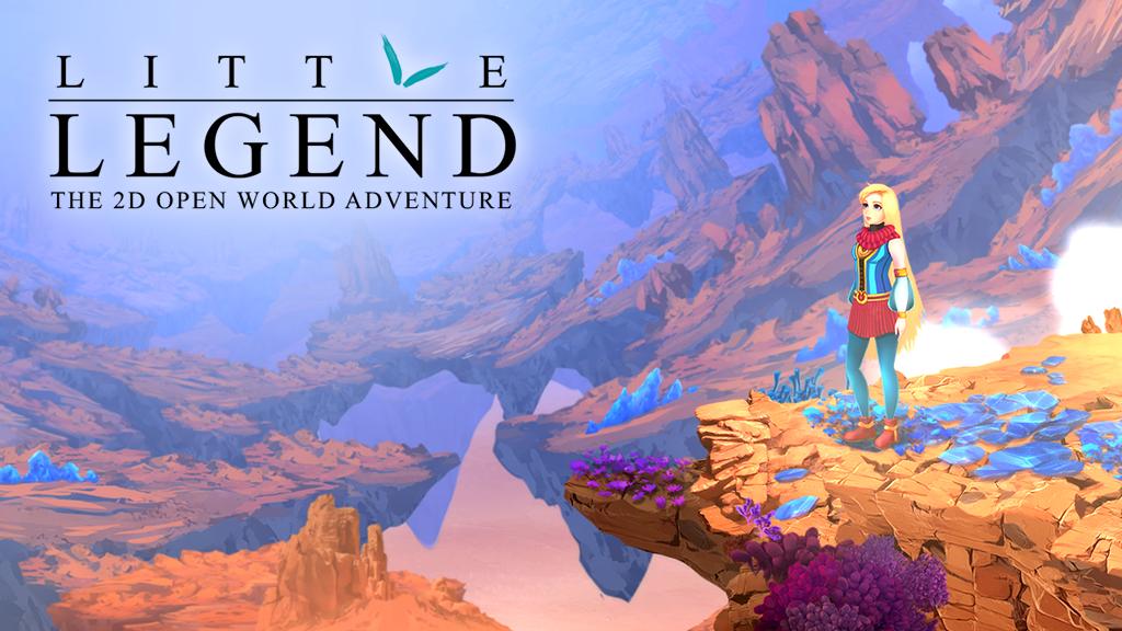 LITTLE LEGEND - the 2D Open World Adventure