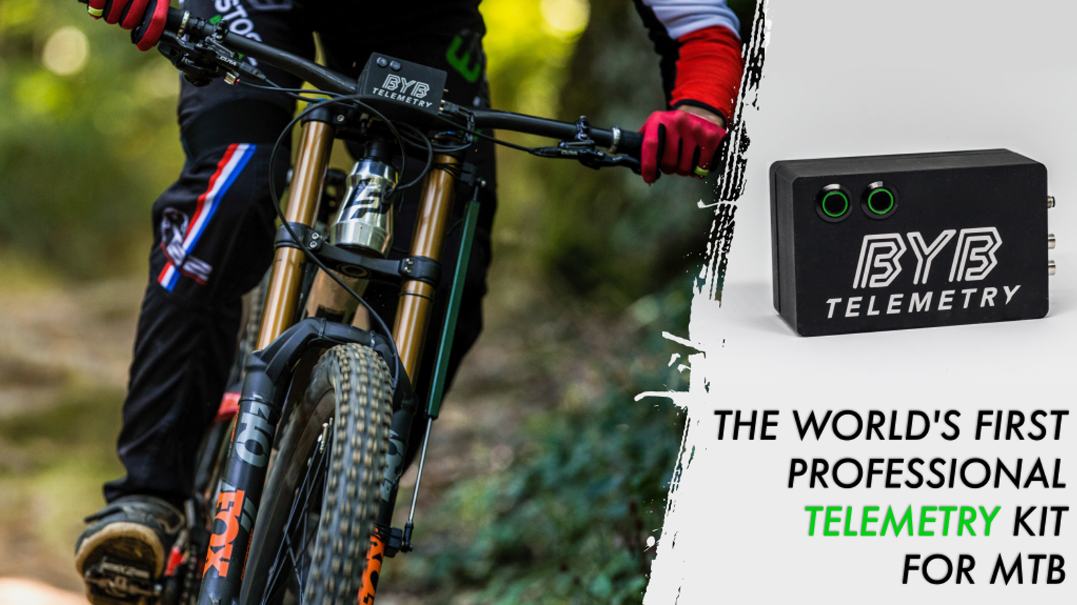 A suspension monitoring system that aims to make the suspension set-up easier and more effective, both for pro and amateur riders.