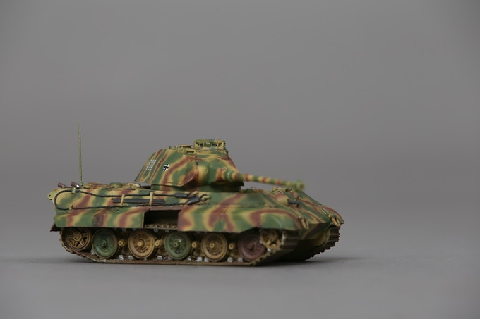 1/56 scale King Tiger sample