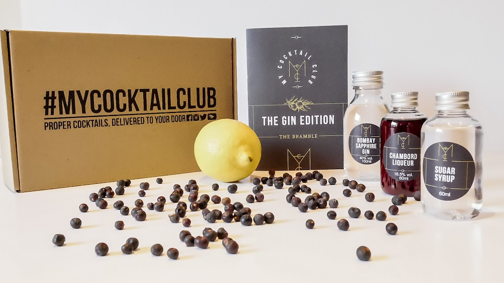 My Cocktail Club - Cocktail Subscription Service