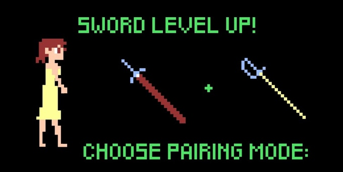 And since she was gaining another sword, there were options on how she would wield them.