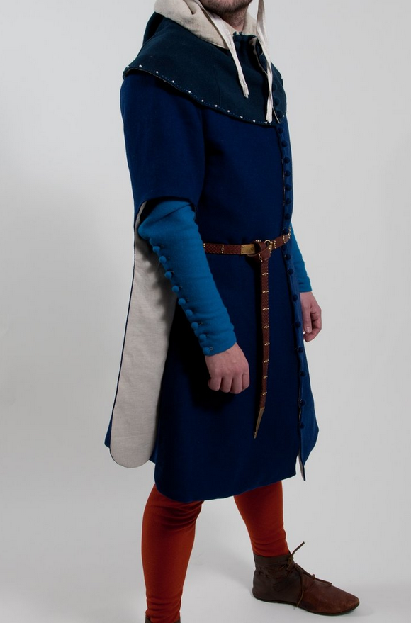 Set of medieval garments, confection-tailored to the client
