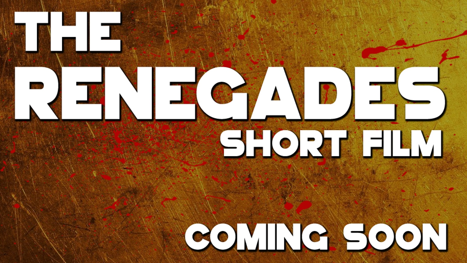The Renegades | Short Film by Ben Williams — Kickstarter