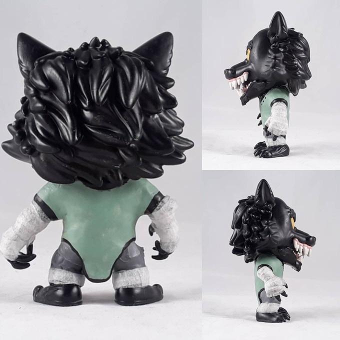 Custom Pop of TJ in his Void Beast form
