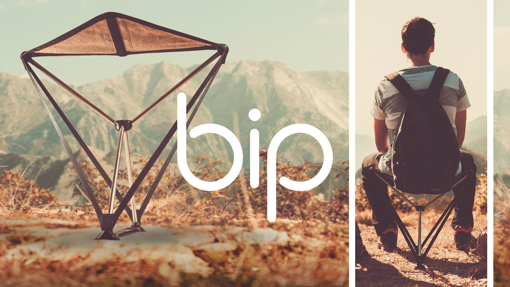 Bip - a Revolutionary foldable seat project video thumbnail