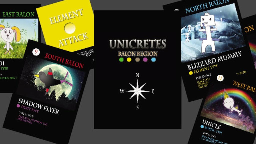 Unicretes Card Game