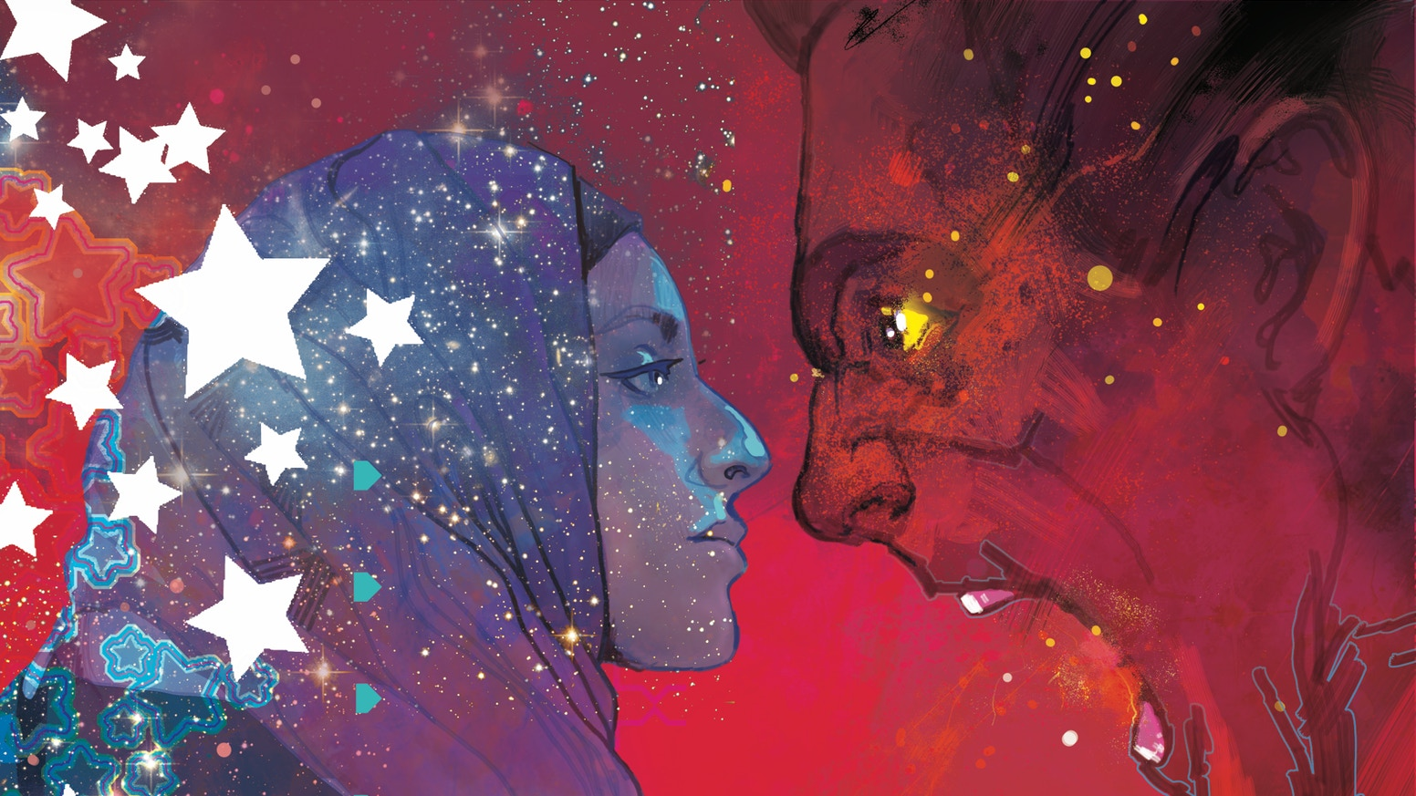 An anthology collection of 40 stories from an all-star roster of comics creators united against hatred, bigotry and racism. Proceeds from post Kickstarter book sales will benefit the charities that fight hate.