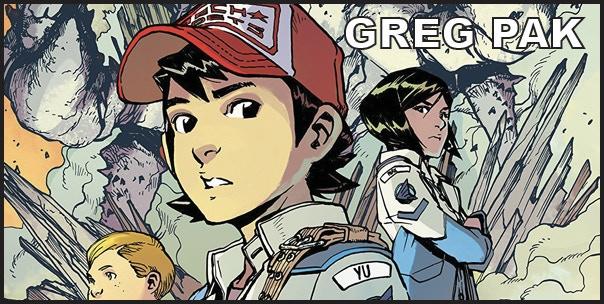 Greg Pak (Planet Hulk, John Wick)