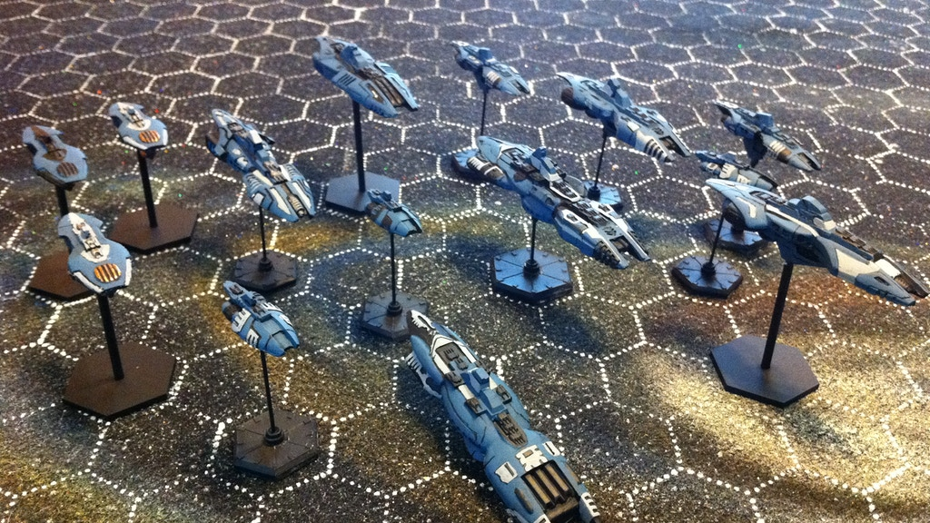 Project image for Charge! Game Rules for Space Miniatures Combat
