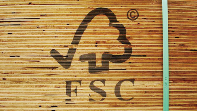 we use FSC certified wood