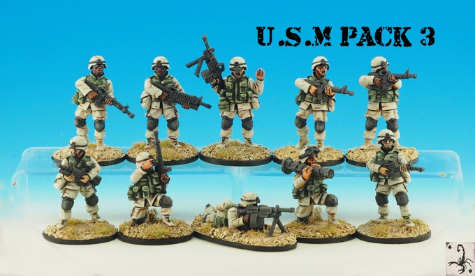 MARINE PACK 3 (10 MODELS)