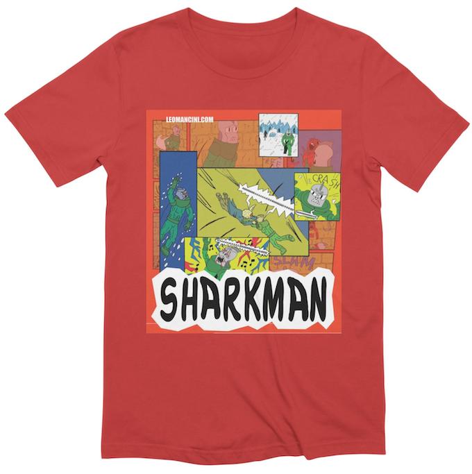 Sharkman Panels Shirt