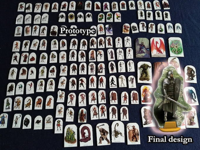 145 standees in the picture. More than 230 in the box.