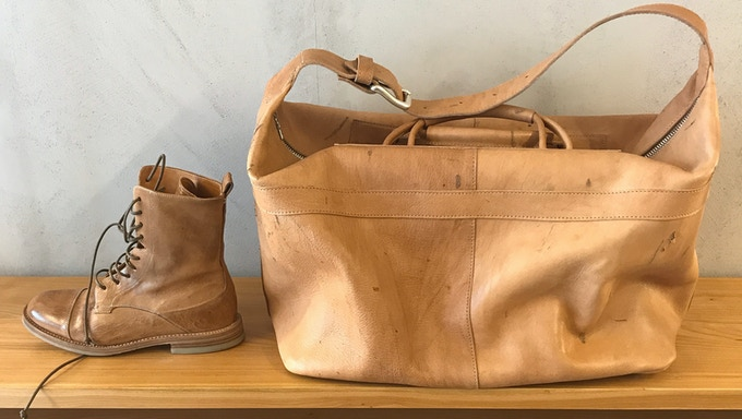 Cervo Volante Shoes: the perfect match with our Weekender