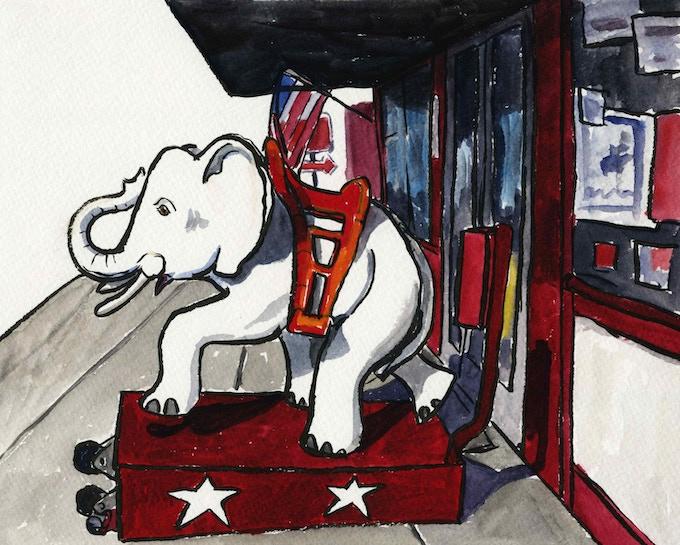 White Elephant Ride