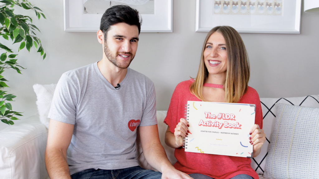 The #LDR Activity Book: for couples ~ inspired by distance project video thumbnail