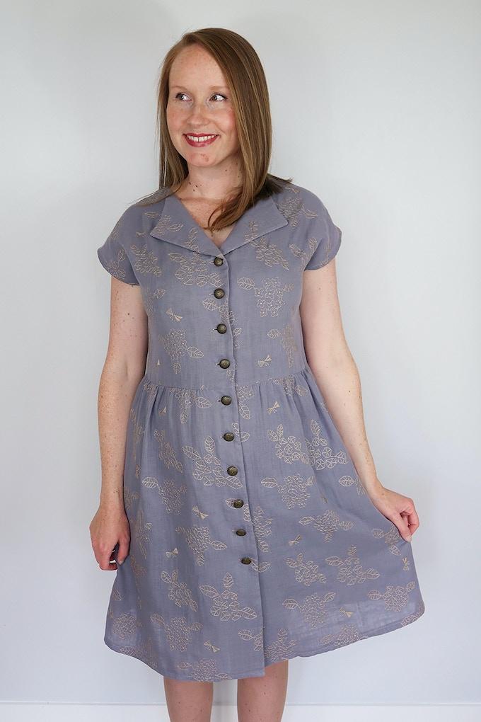 Gathered Sorrel Dress Hack