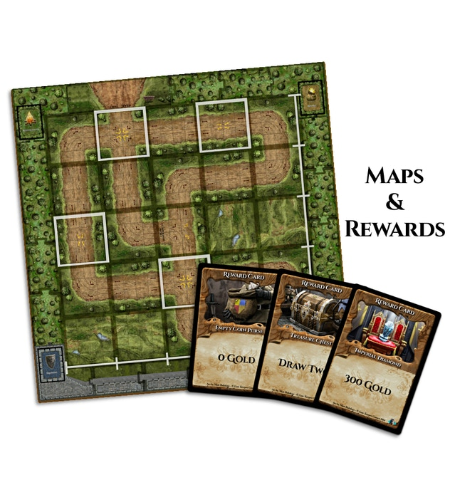 The King's Armory - the Tower Defense Board Game by John Wrot