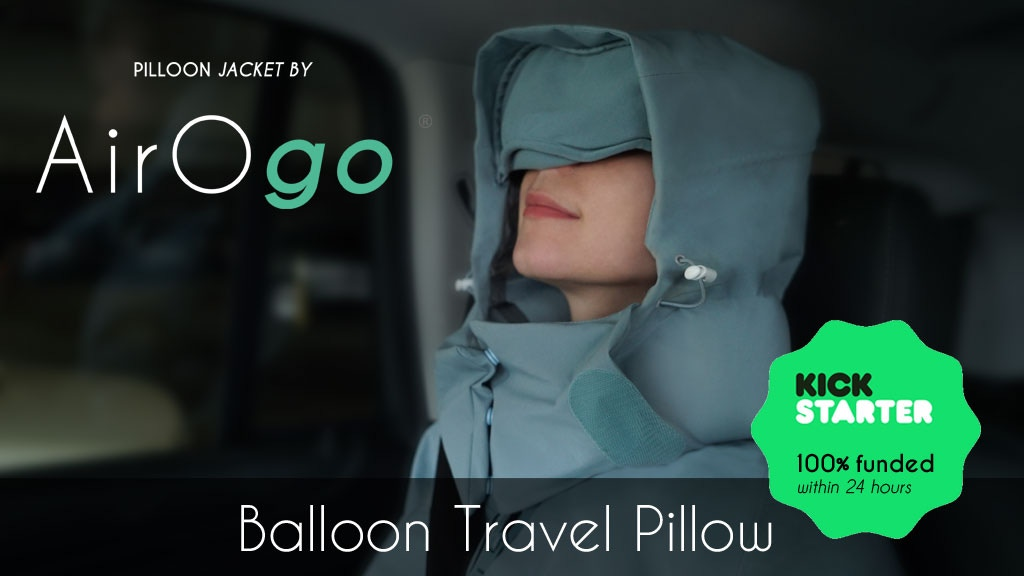 Pilloon Jacket: Get sound and cozy sleep when you travel project video thumbnail