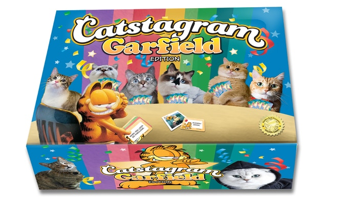 It's Garfield and his newest friends! (His new fur-ends at least.)