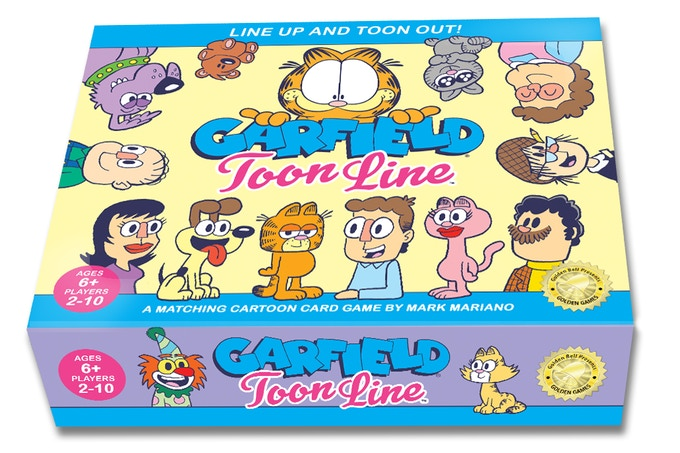 Based off the family hit from the Golden Games original series, Toon Line!