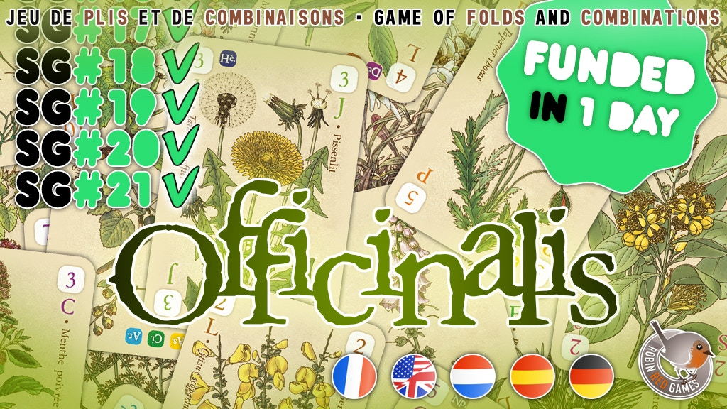 OFFICINALIS - Card game with medicinal plants project video thumbnail