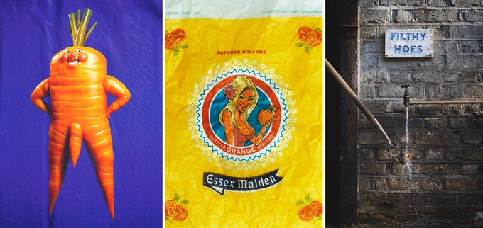 'Percy', 'Essex Maiden' and 'Filthy Hoes' - Art Mart Giclée Prints