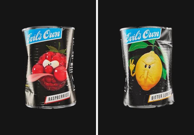 'Raspberries' and 'Bitter Lemons' - Art Mart Giclée Prints