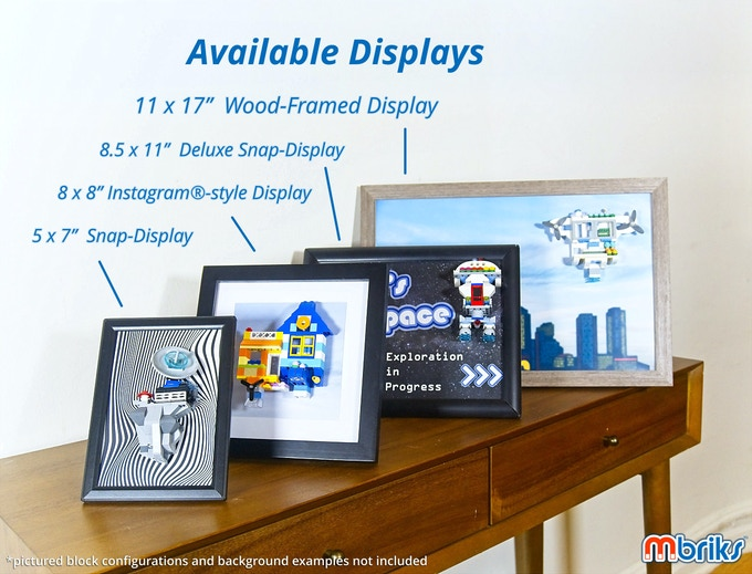 Available displays