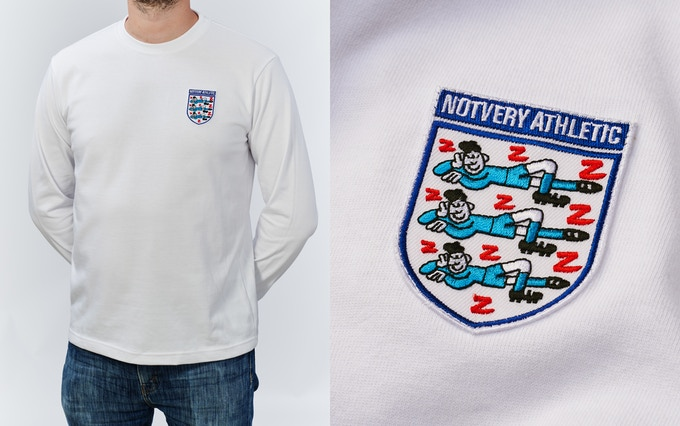 NOTVERY ATHLETIC 1960s football shirt