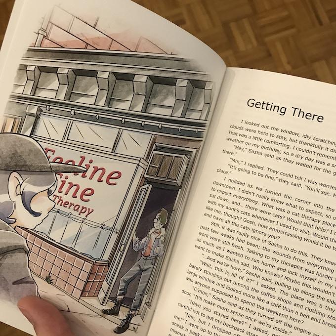 Feline Therapy Print Edition by Alex Zandra Van Chestein — Kickstarter