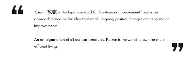 kaizen everyday life