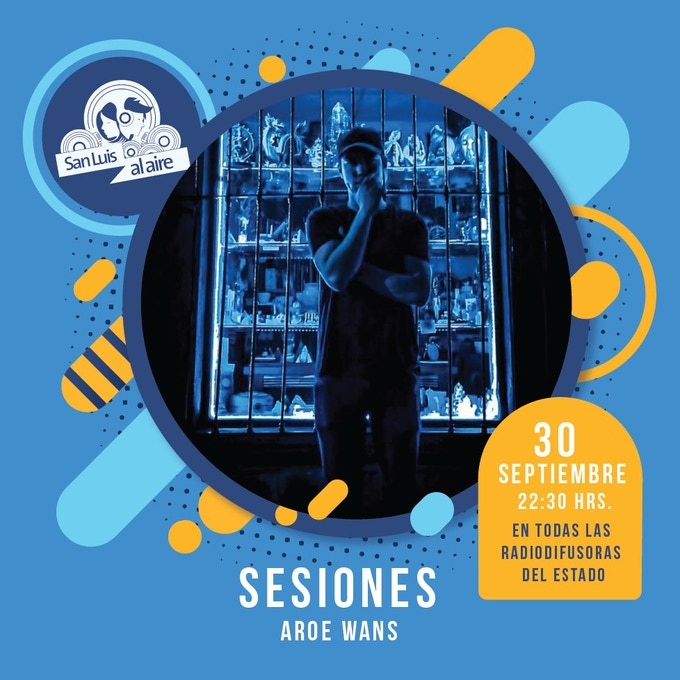 Cartel promocional del programa San Luis Al Aire
