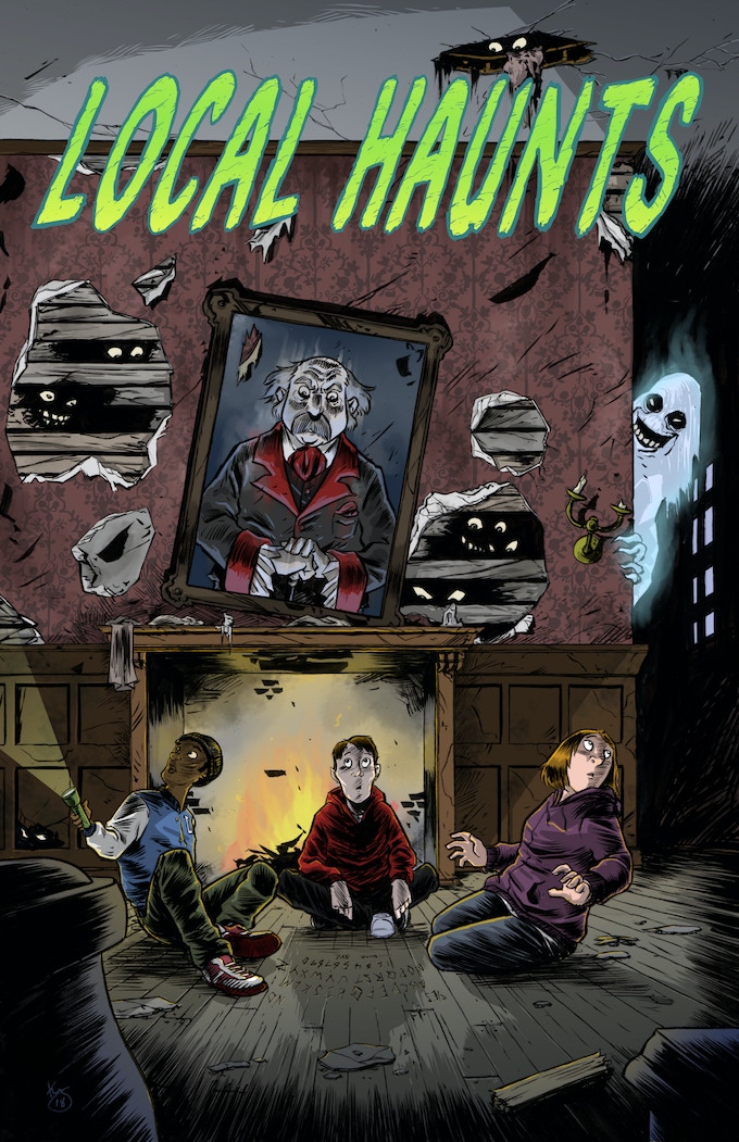 Cover Art by Kelly Williams